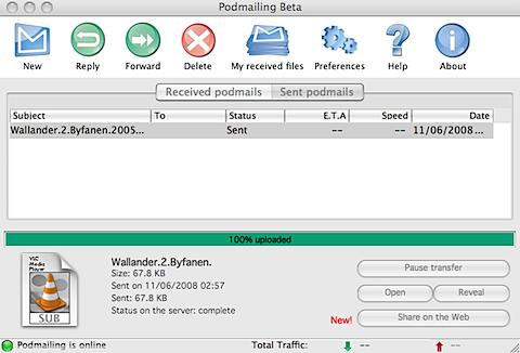 podmailing VIPeers: En genial måte å dele filer på (Beta invitasjoner)