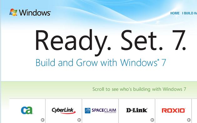 Klar. Ferdig. Sju. Windows 7 RTM-lanseringen nærmer seg med stormskritt og Microsoft har i den anledning lansert nettstedet readyset7.com.