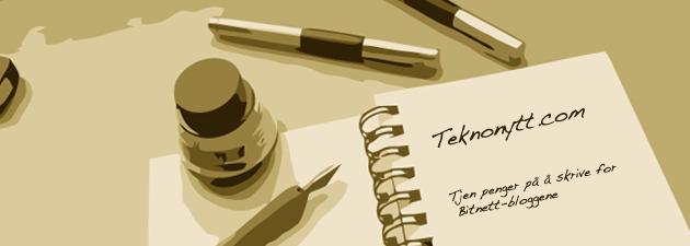 skribent features Er du den neste bloggeren i Bitnetts nisjeblogger?