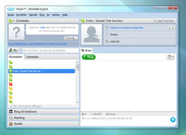 skype 4 Skype lanserer versjon 4.0   se hva som er forandret