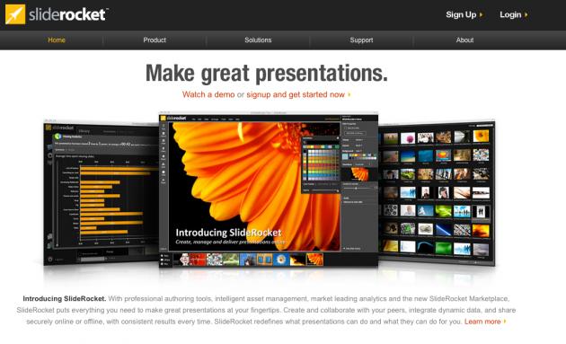 sliderocket 630x383 Sliderocket: Et genialt nettbasert presentasjonsverktøy