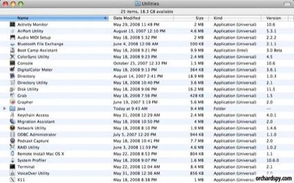 snowleouniversal De første skjermbildene av Mac OS X 10.6   Helt lik 10.5