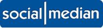 socialmedian logo Social median: Sosialt nettverk hvor man deler nyhetslinker