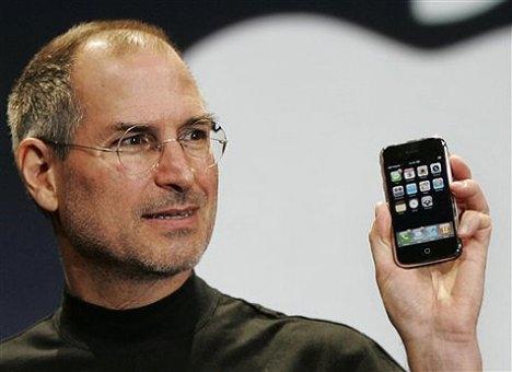 steve jobs apple iphone Apple   Teknologiens mørkemenn?