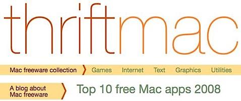 t Tidenes kilde liste over gratisprogrammer for Mac