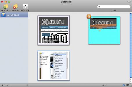 test sketchbox skjerm 455x300 SketchBox: For deg som synes Huskelapper applikasjonen er for enkel [MacOS]