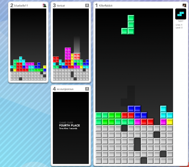 tetris 630x556 Spill mot venner i et nettbasert spill community