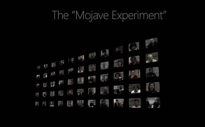the mojave experiment The Mojave Experiment   Microsoft vil bedre Vistas rykte