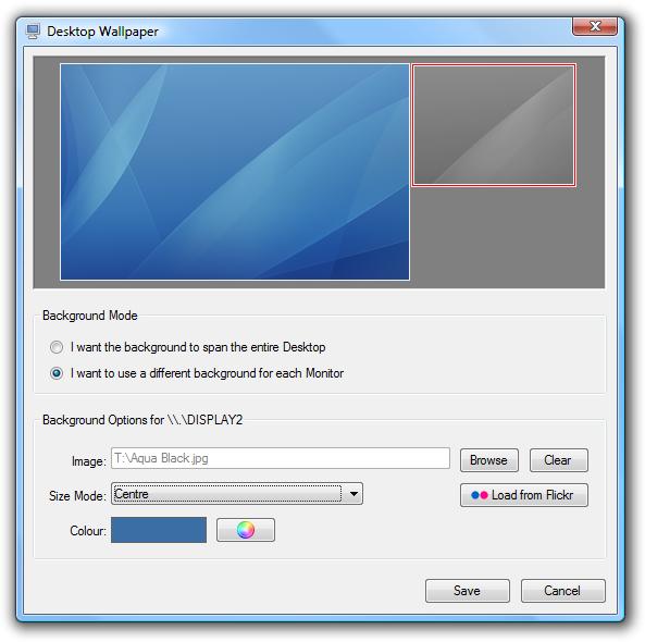 wallp Dual Monitor: Forskjellig Wallpaper på skjermene [Windows XP og Vista]