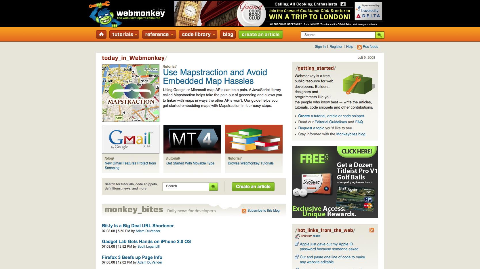 webmonkey the web developers resource Webmonkey: Guider om webutvikling