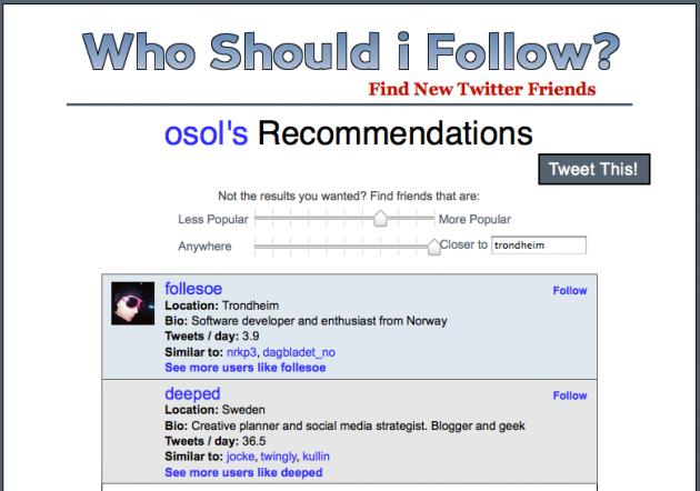 whoshouldifollow 630x442 Slik finner du relevante norske personer å følge på Twitter