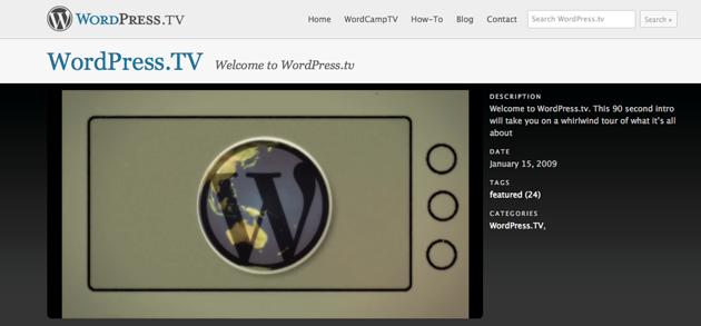 wordpress-tv-nettsiden